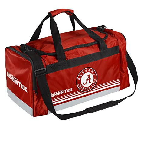 610f7f2e722c Amazon.com   Alabama Medium Striped Core Duffle Bag   Sports   Outdoors