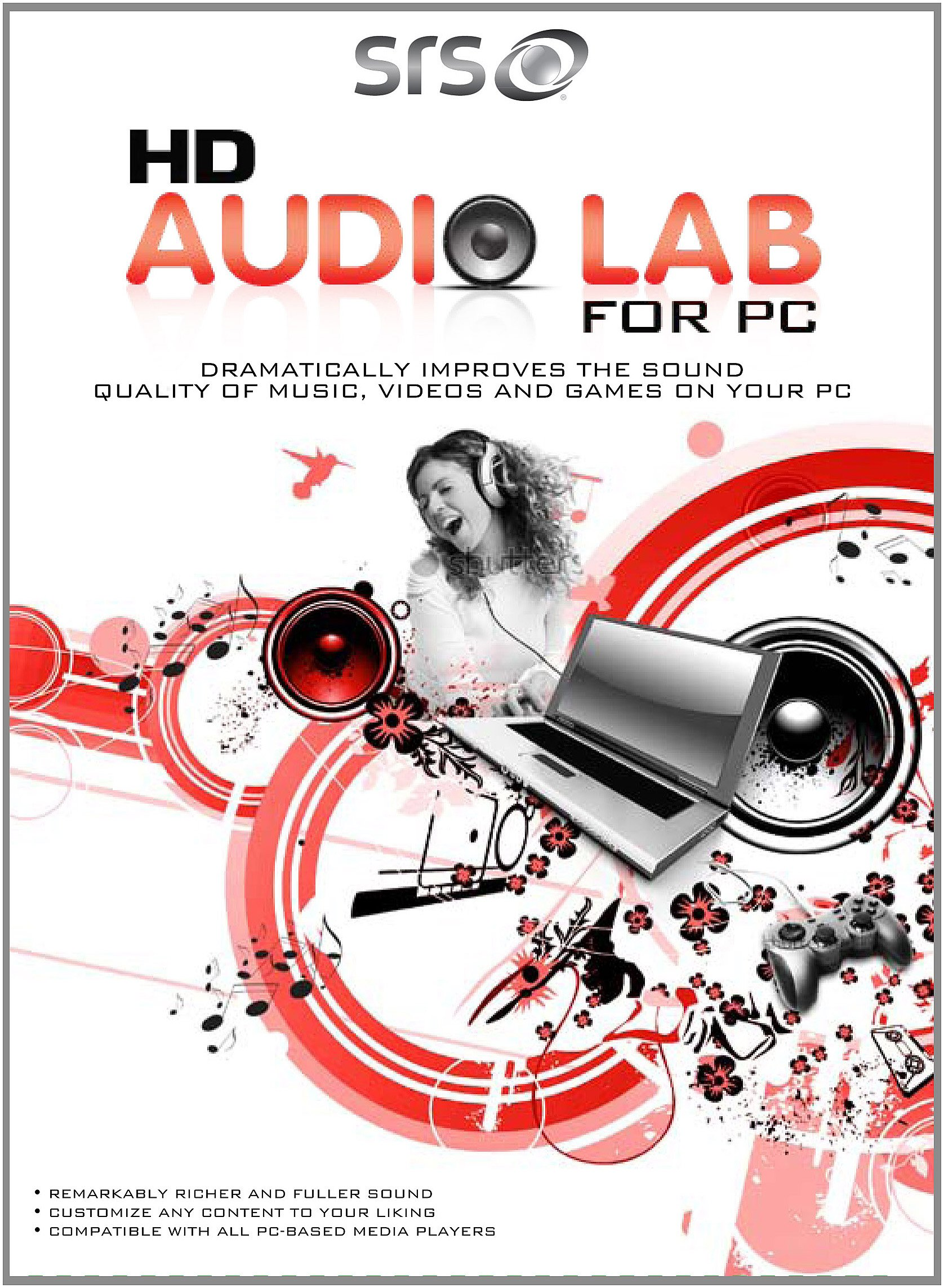 HD Audio Lab for PC - 3 Activations [Download] by SRS Labs, Inc.