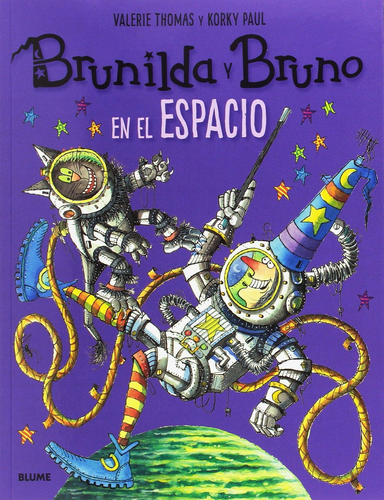 Brunilda y Bruno. En el espacio: Amazon.es: Thomas, Valerie, Paul, Korky, Rodríguez Fischer, Cristina, Diéguez Diéguez, Remedios: Libros