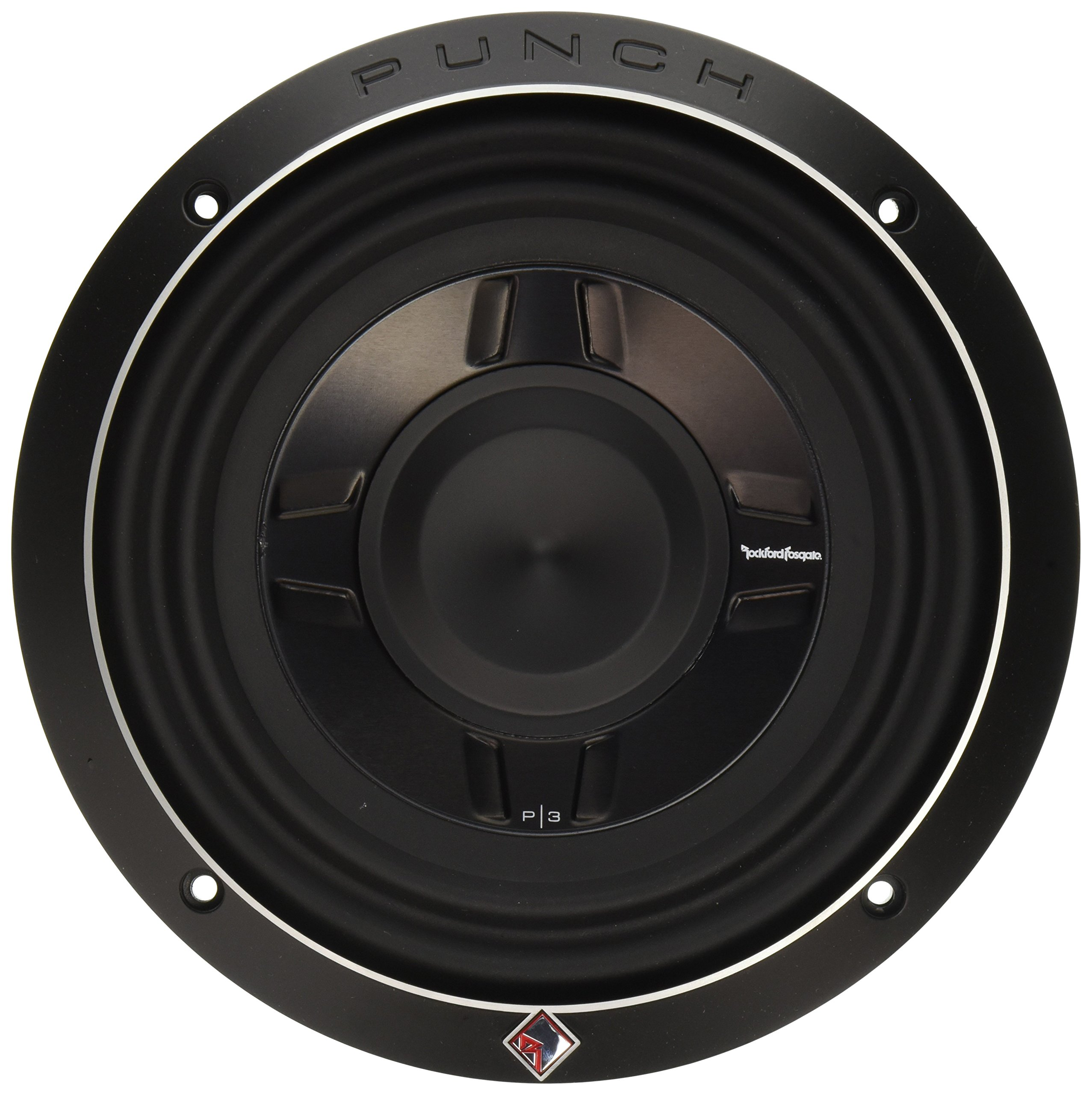 Rockford Fosgate P3SD2-8 8'' Dual 2-Ohm Punch Series Shallow Mount Car Subwoofer by Rockford Fosgate