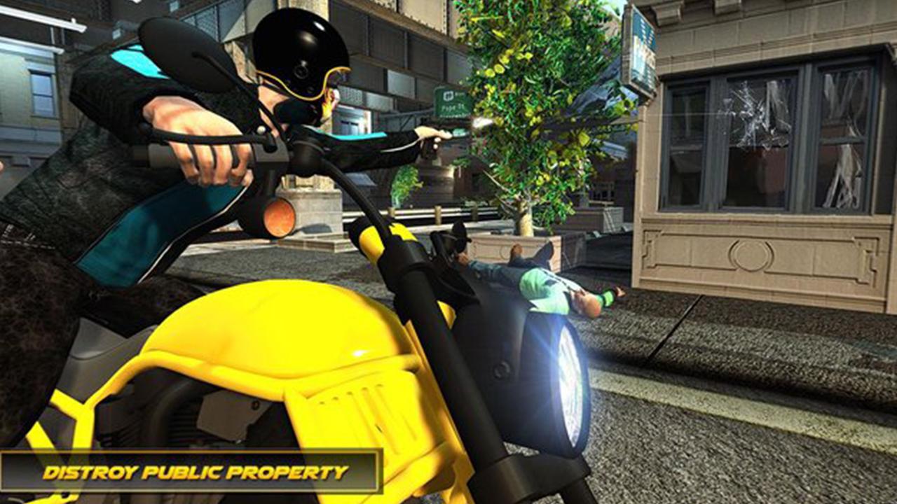 Amazon.com: Vegas City Heavy Bike Gangsters Escape Adventure ...