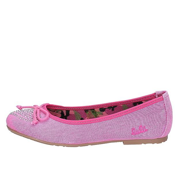 d1e436f22472e Lulu  Ballerines bébé Fille Toile Fuchsia  Amazon.fr  Chaussures et Sacs