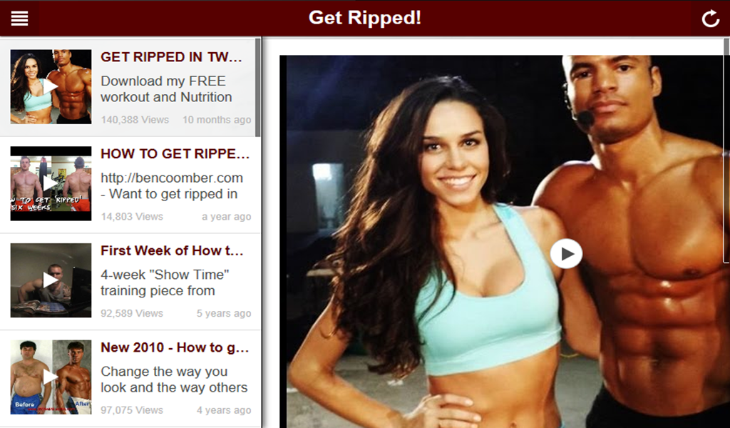 Amazon Com How To Get Ripped Fast Appstore For Android