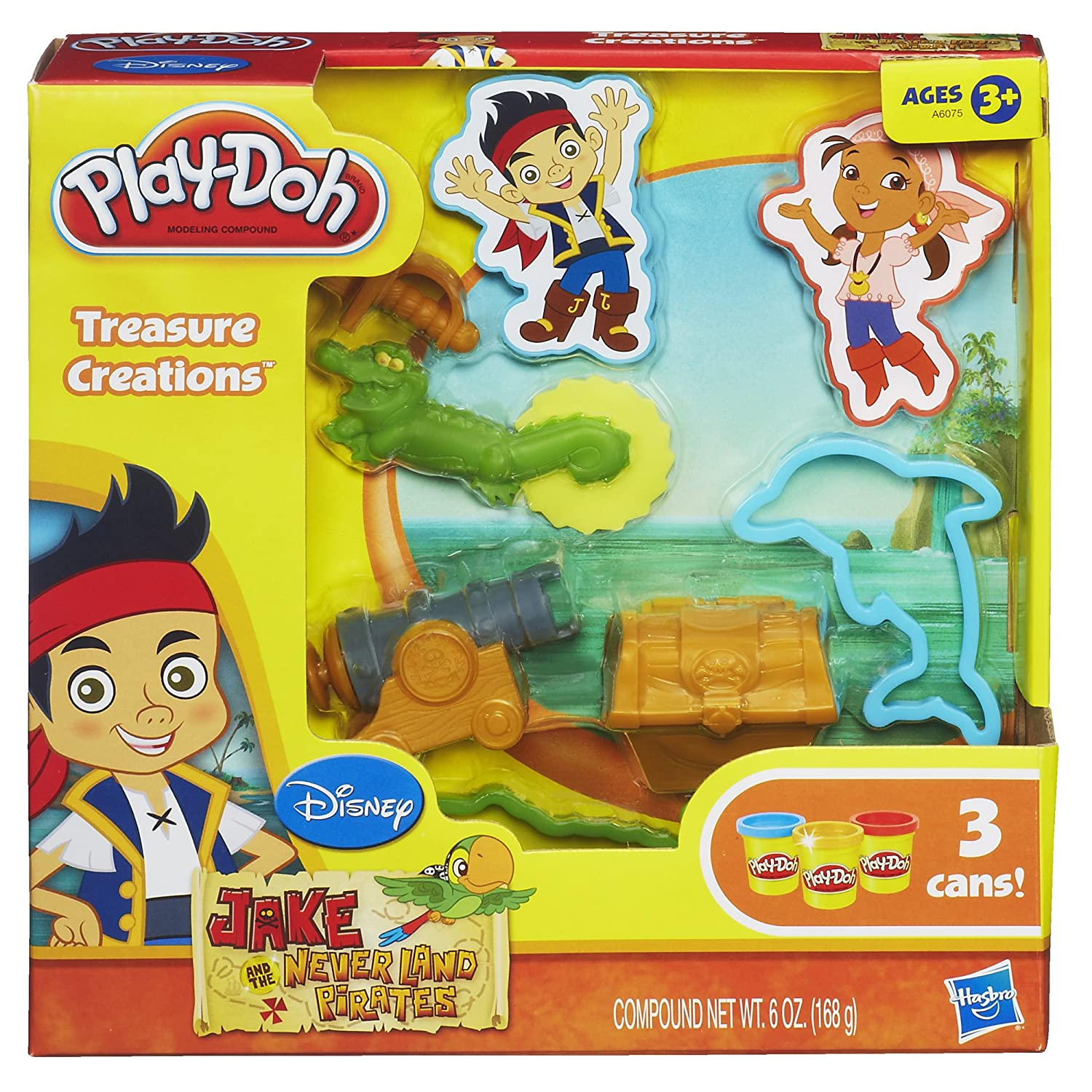 Amazon.com: Play-Doh Disney Jake and The Neverland Pirates: Toys & Games