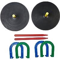 AmazonBasics Set de herradura de goma