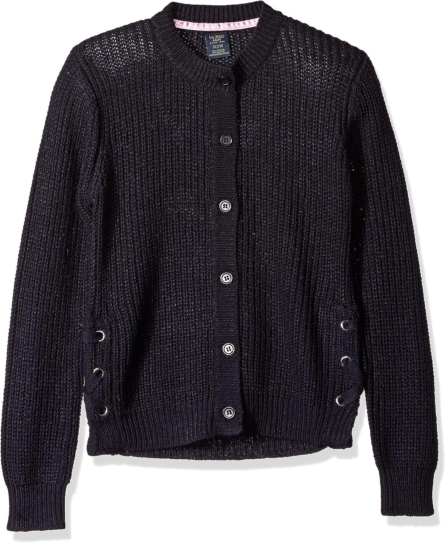 Polo Assn U.S Girls Cardigan Sweater