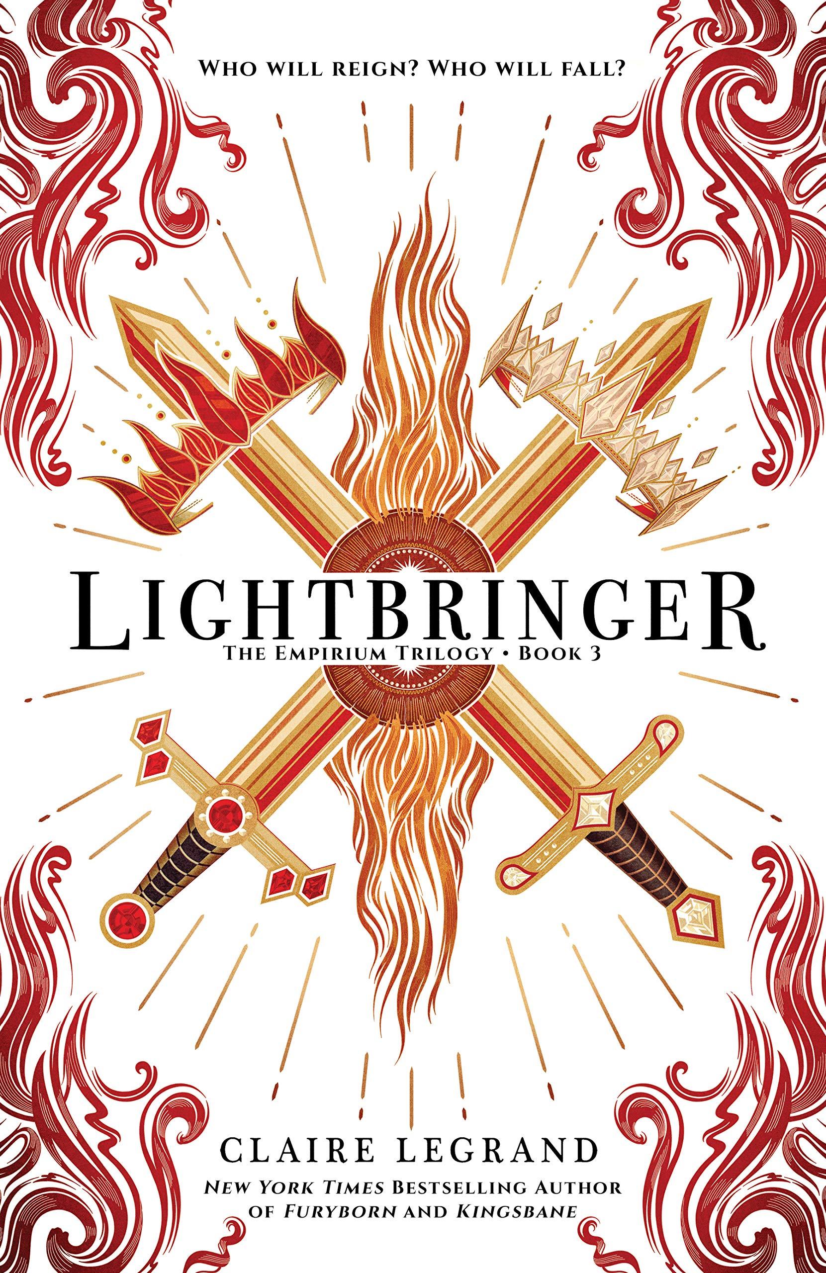 Amazon.com: Lightbringer (The Empirium Trilogy, 3) (9781492656685): Legrand,  Claire: Books