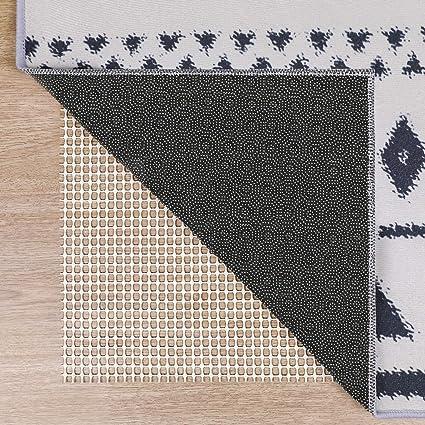80 by 150 cm /'Cut to Size/' Non-slip White Fleece Rug Gripper