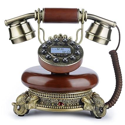 Antique Phone, BNEST Vintage Landline Desk Phone Classic Home Deocration  Phone for Bedroom Living Room - Amazon.com: Antique Phone, BNEST Vintage Landline Desk Phone