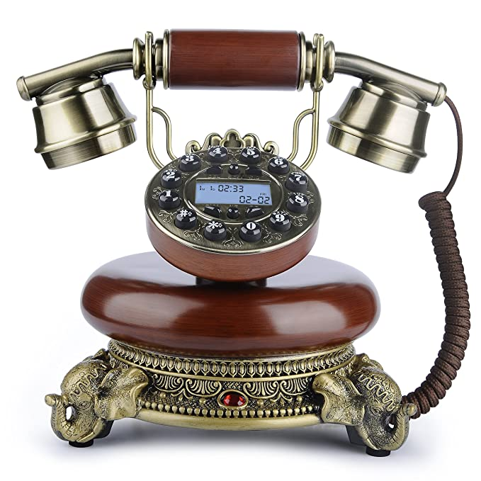 Antique Phone, BNEST Vintage Landline Desk Phone Classic Home Deocration  Phone for Bedroom Living Room - Amazon.com : Antique Phone, BNEST Vintage Landline Desk Phone