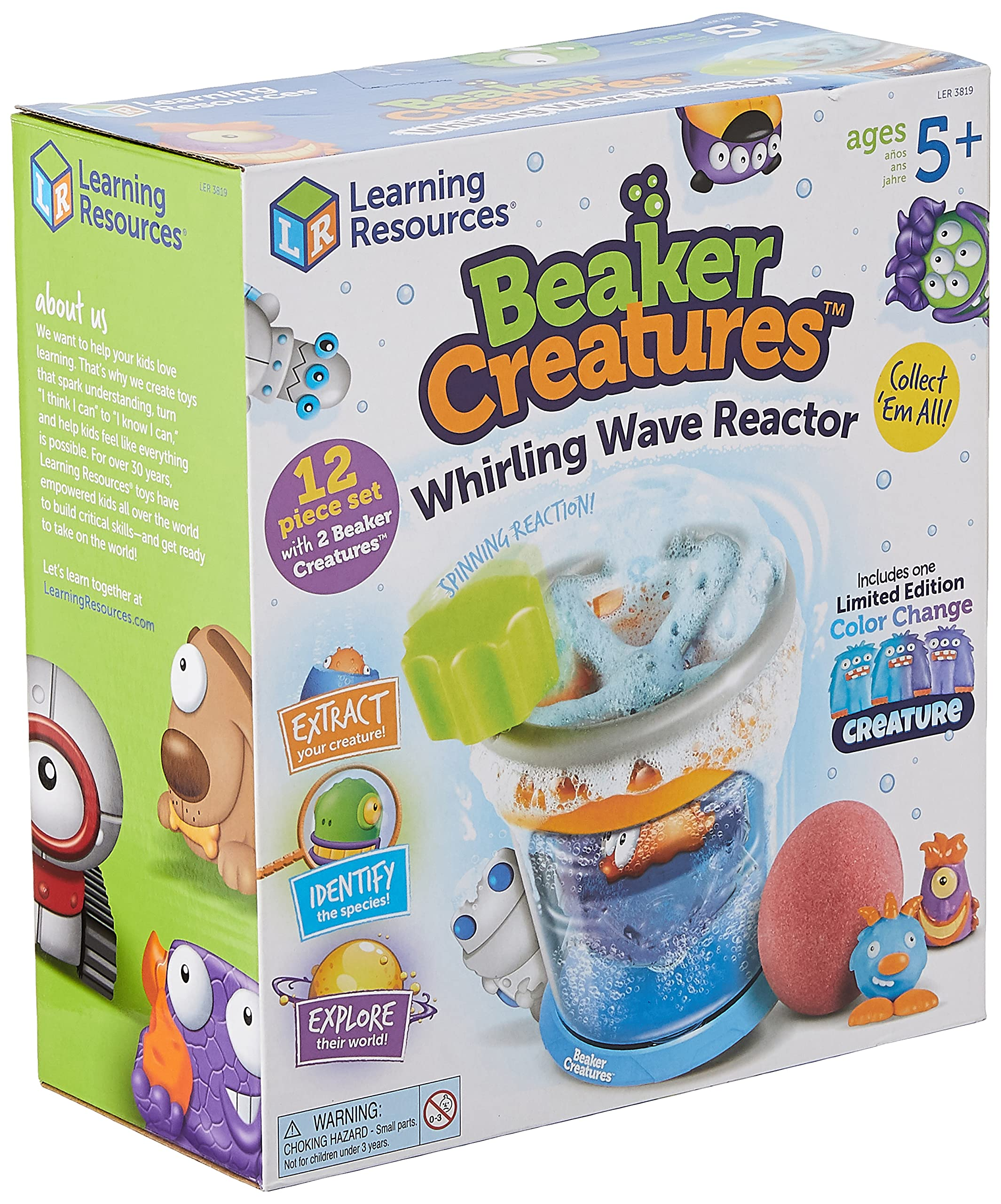 Learning Resources LER3819 Whirling Wave Reactor-Beaker Creatures