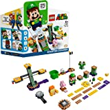 LEGO 71387 Super Mario Adventures with Luigi Starter Course Toy, Interactive Figure and Buildable Game Set