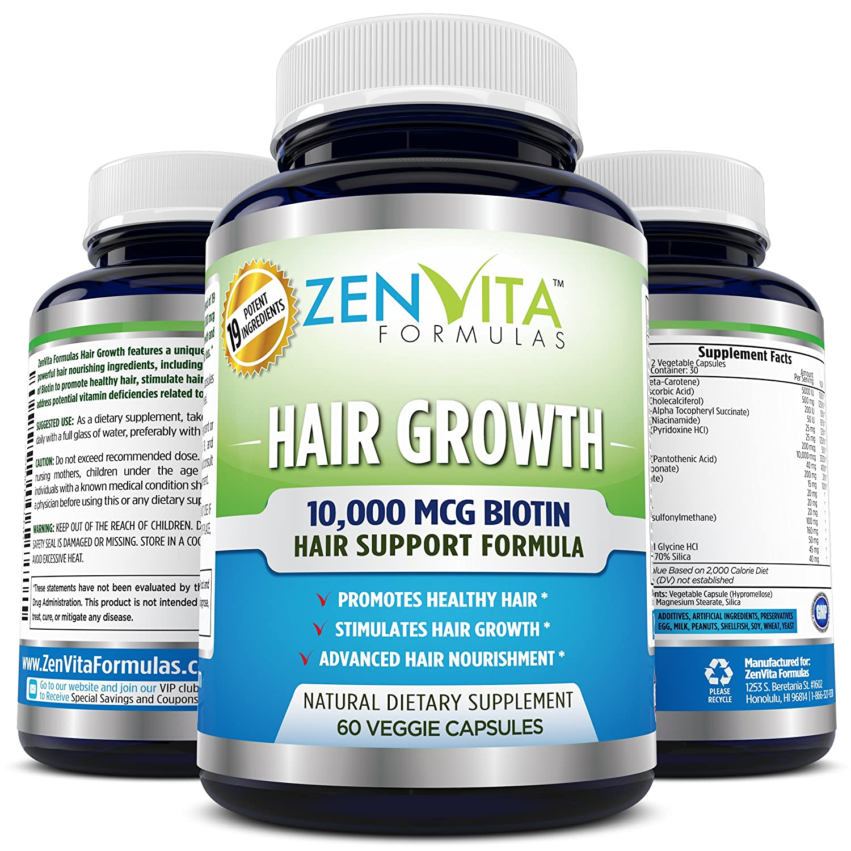 Hair Vitamin Supplements Biotin