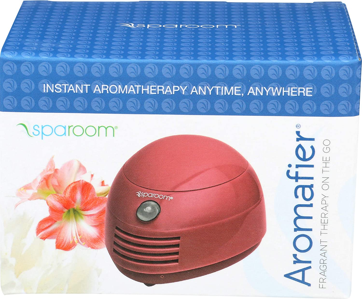 SpaRoom Aromafier Portable Fragrance Diffuser Assortment, Burgundy/Taupe/Periwinkle, 0.25 Pound