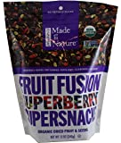Made in Nature Fruit Fusion Superberry Supersnacks Organic Dried Fruit & Seeds, 12 Ounce