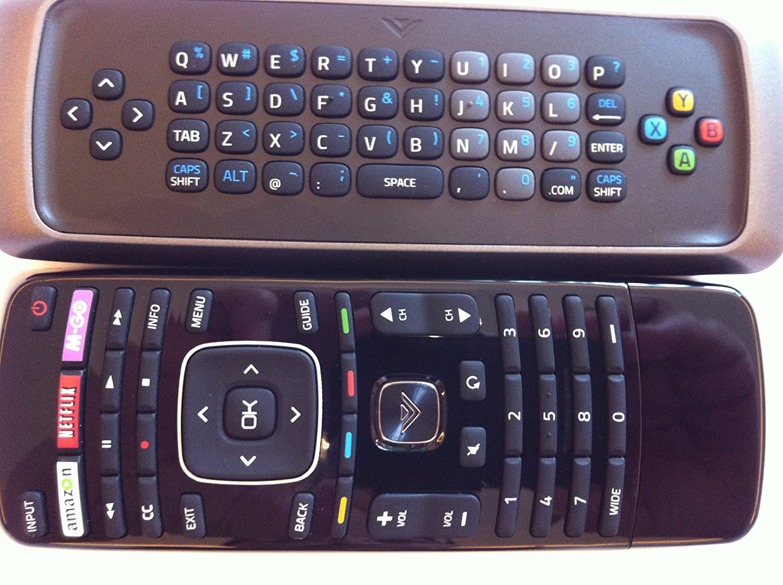 vizio tv remote best buy. Amazon.com: New True XRT302 XRT300 Smart TV Qwerty Dual Side Keyboard Remote Control---With M-GO/Netflix/amazon/ WIDE Key FOR VIZIO TV: Home Audio \u0026 Vizio Tv Best Buy