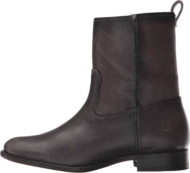 FRYE Womens Cara Short Suede Boot