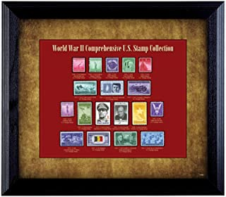 product image for American Coin Treasures World War II Stamp Framed Collection