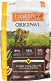 Instinct Original Grain Free Recipe Natural Dry Cat Food by Nature's Variety