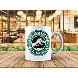 Jurassic Park Starbucks inspired Isla Nublar Coffee Tea Mug 11oz Jurassic World