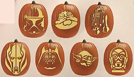 Amazon.com Star Wars Pumpkin Carving Kit with Tool Set and