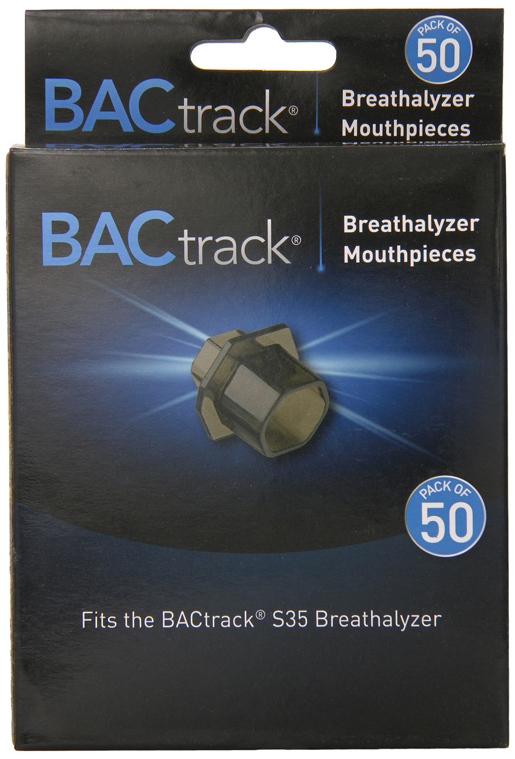 BACtrack S35 Breathalyzer Mouthpieces (Pack of 50)