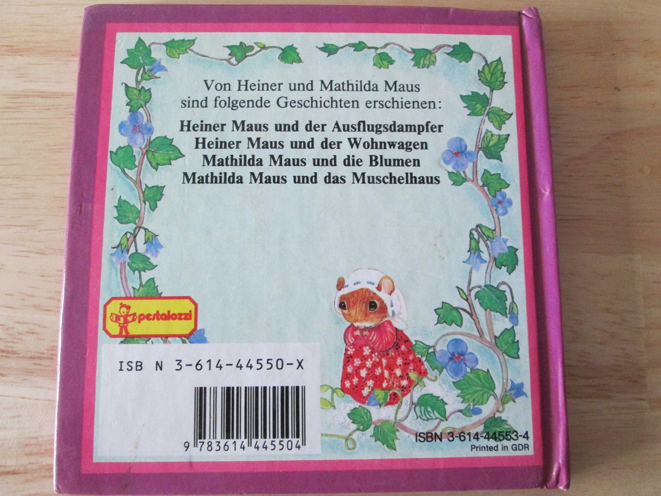 Mathilda Maus und die Blumen: Amazon.de: Heather S. Buchanan: Bücher