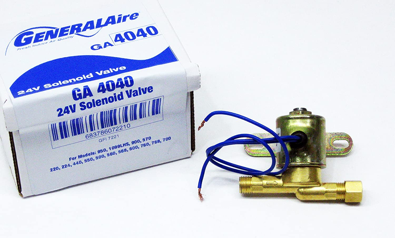 GeneralAire GA4040 24V Solenoid Valve (GFI# 7221)