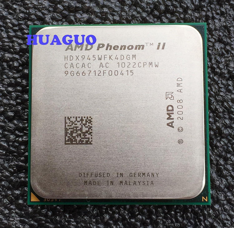 Amazon Com Amd Phenom Ii X4 945 Deneb 3 Ghz Quad Core Cpu Processor Hdx945wfk4dgm Socket Am3 95w Computers Accessories