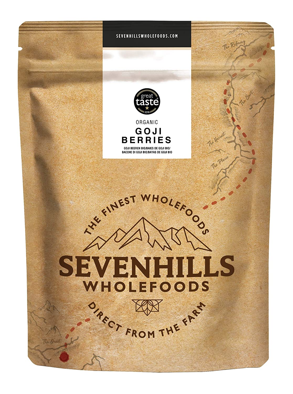 Sevenhills Wholefoods Bayas de Goji Orgánico 500g