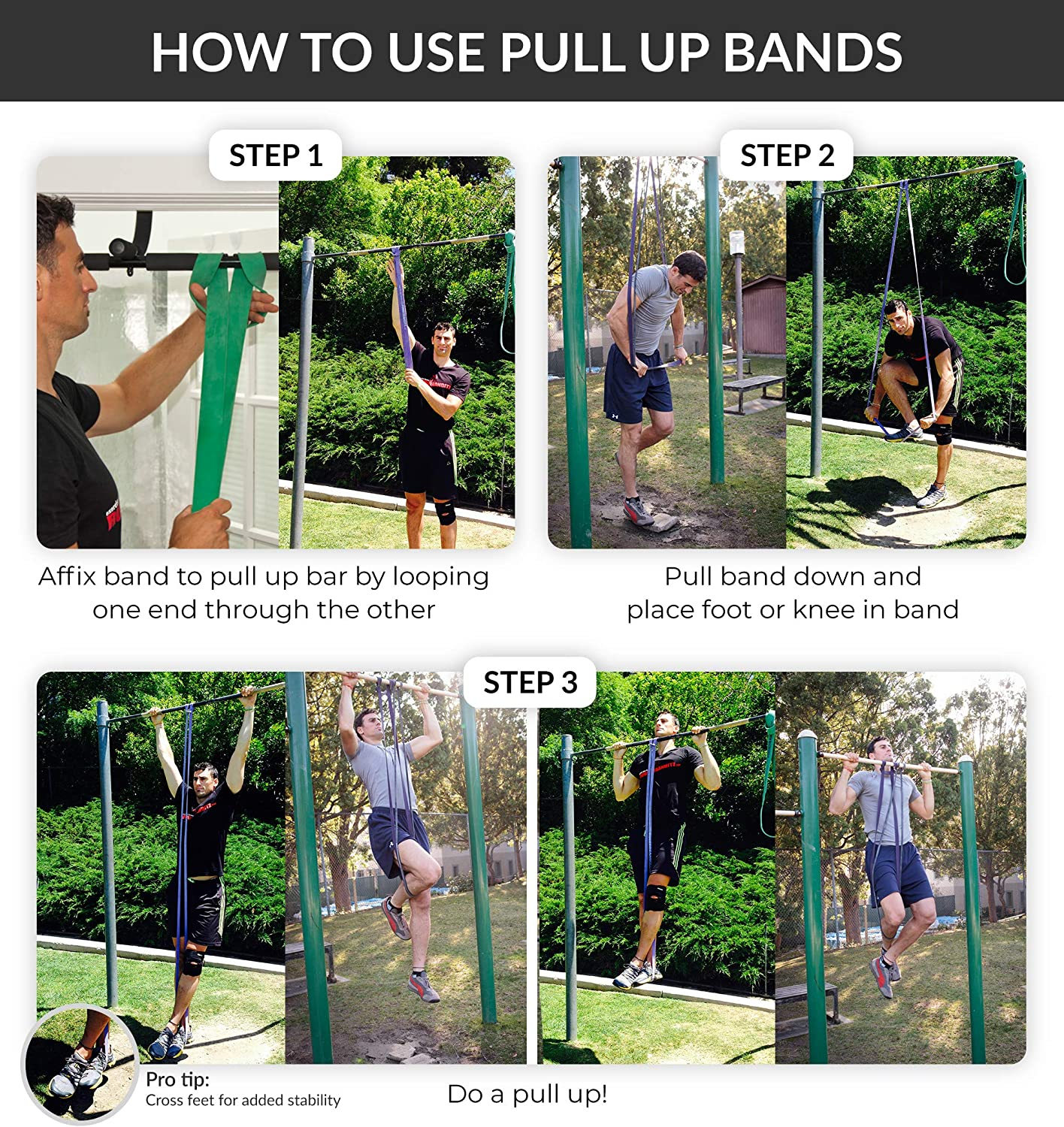 how to use pull up assist bands