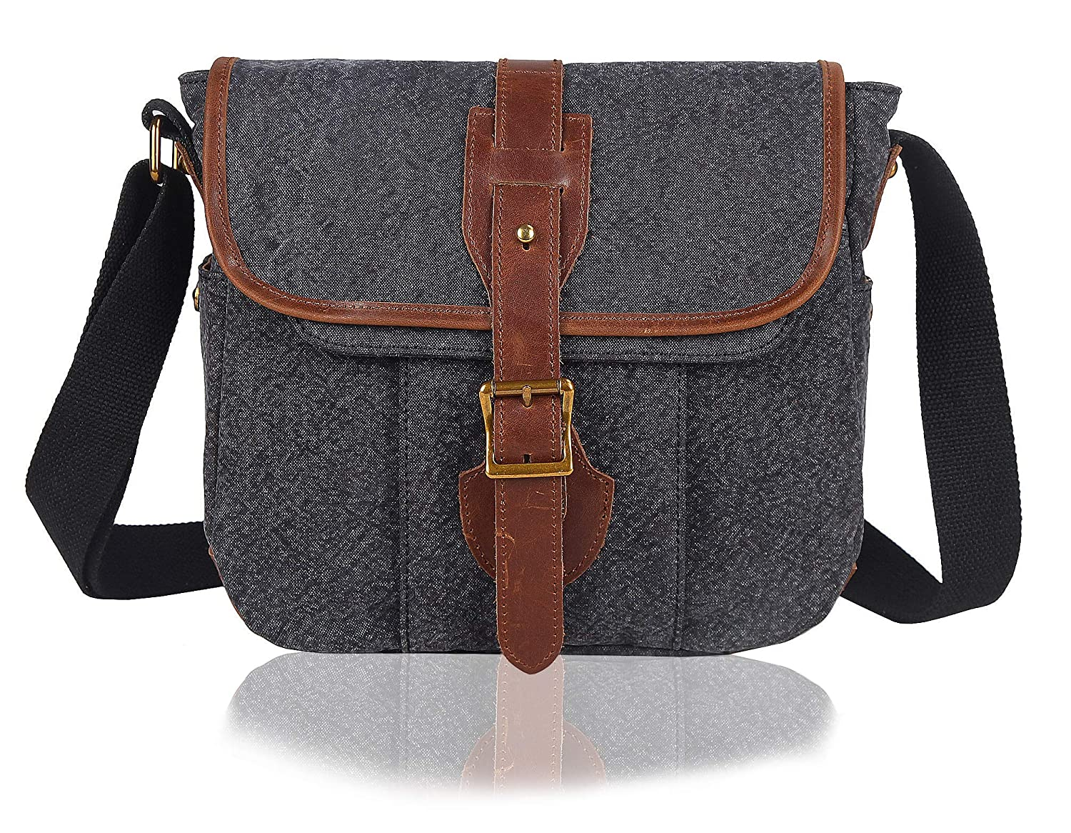 c230a742196c Canvas Messenger Bag Amazon