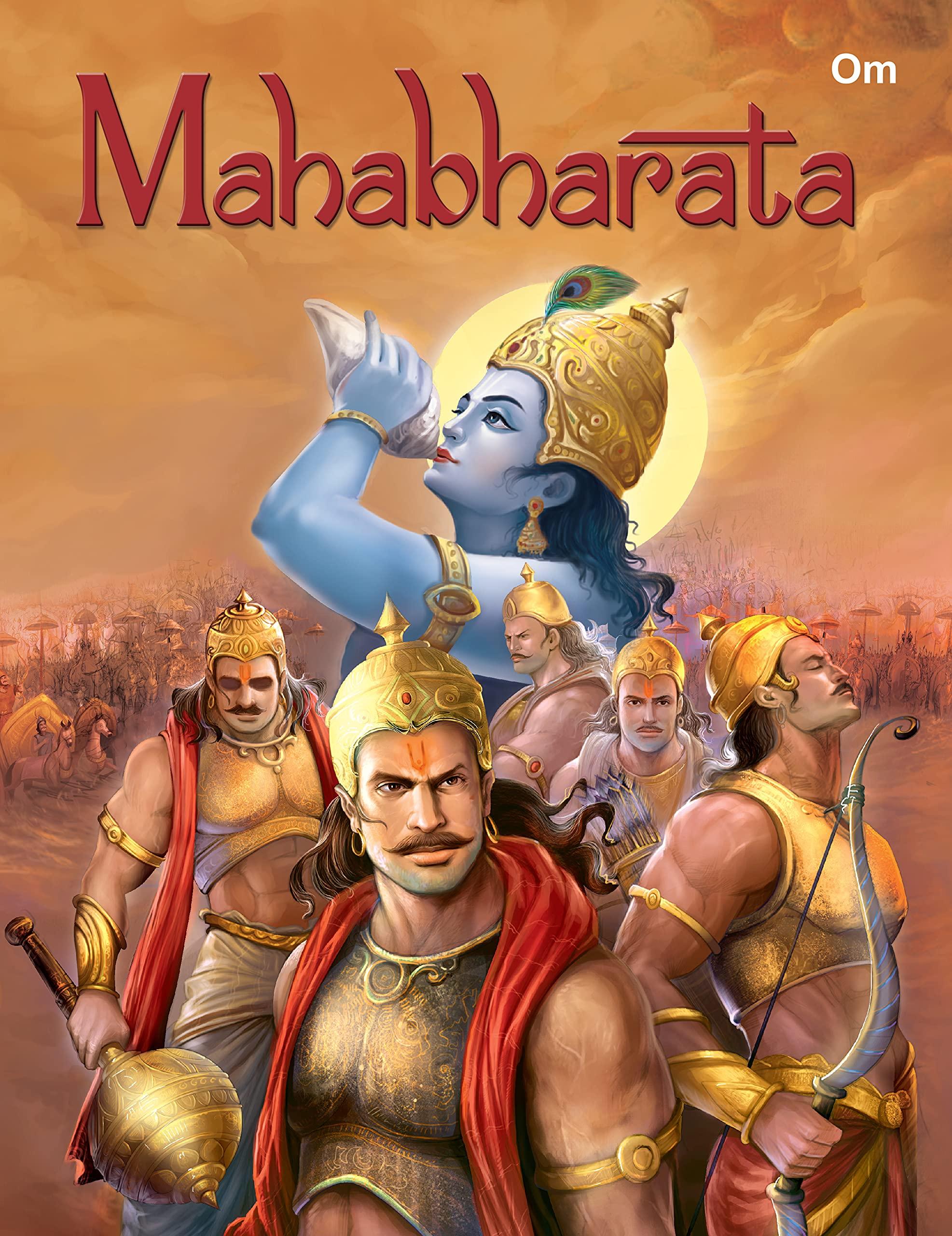 Mahabharata : Indian Epic (Illustrated Mahabharata for Children) : Om Books: Amazon.in: Books