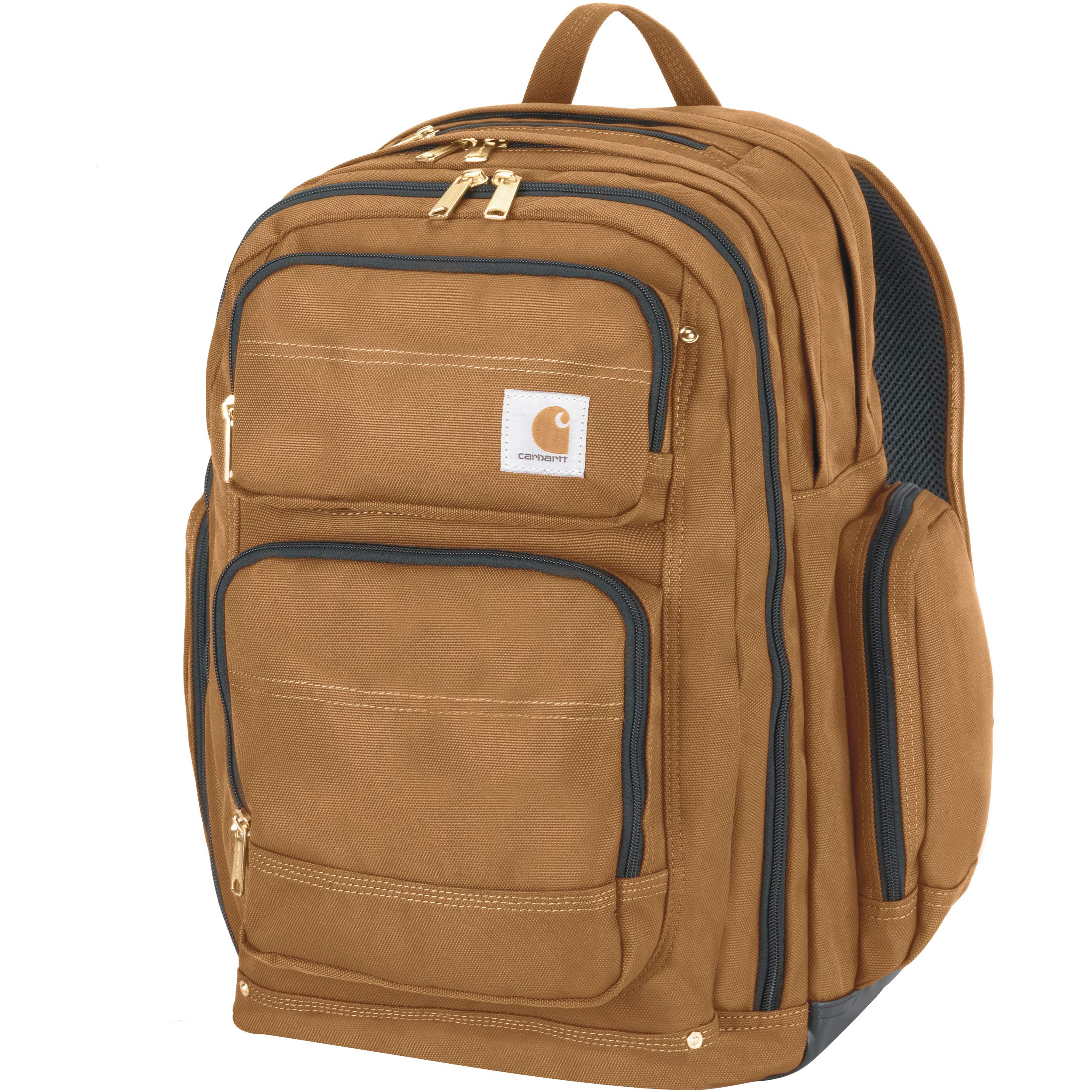 Carhartt Legacy Deluxe Work Backpack with 17-Inch Laptop Compartment, Carhartt Brown by Carhartt