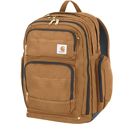 9340062cc Carhartt Legacy Deluxe Work Backpack with 17-Inch Laptop Compartment,  Carhartt Brown: Amazon.ca: Sports & Outdoors
