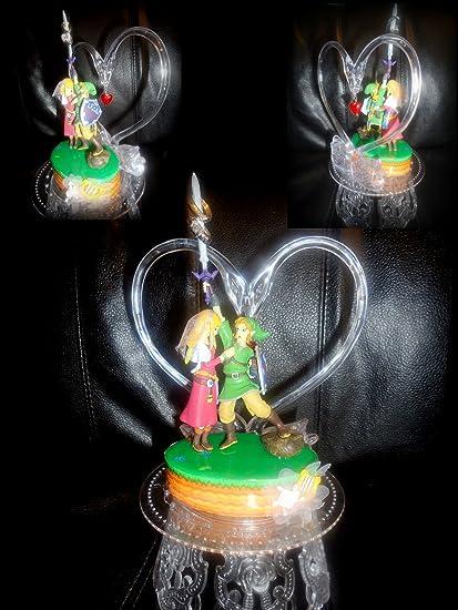 Amazon Com Nintendo The Legend Of Zelda Wedding Cake Topper