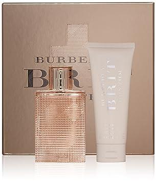 Burberry Brit Rhythm Women Floral For Her Eau De Toilette Gift Set Body Lotion Net Weight 4 2 Fl Oz