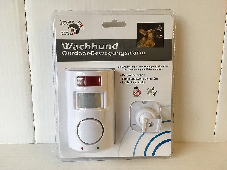 90dB 5m Reichweite Lautst/ärke ca Katzenvertreiber Hundegebell Bewegungsmelder f/ür aussen ca