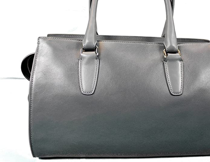bd30d38513 Coach Legacy Embossed Quilted Leather Chelsea Carryall Handbag Purse 25828  Black Grey  Handbags  Amazon.com