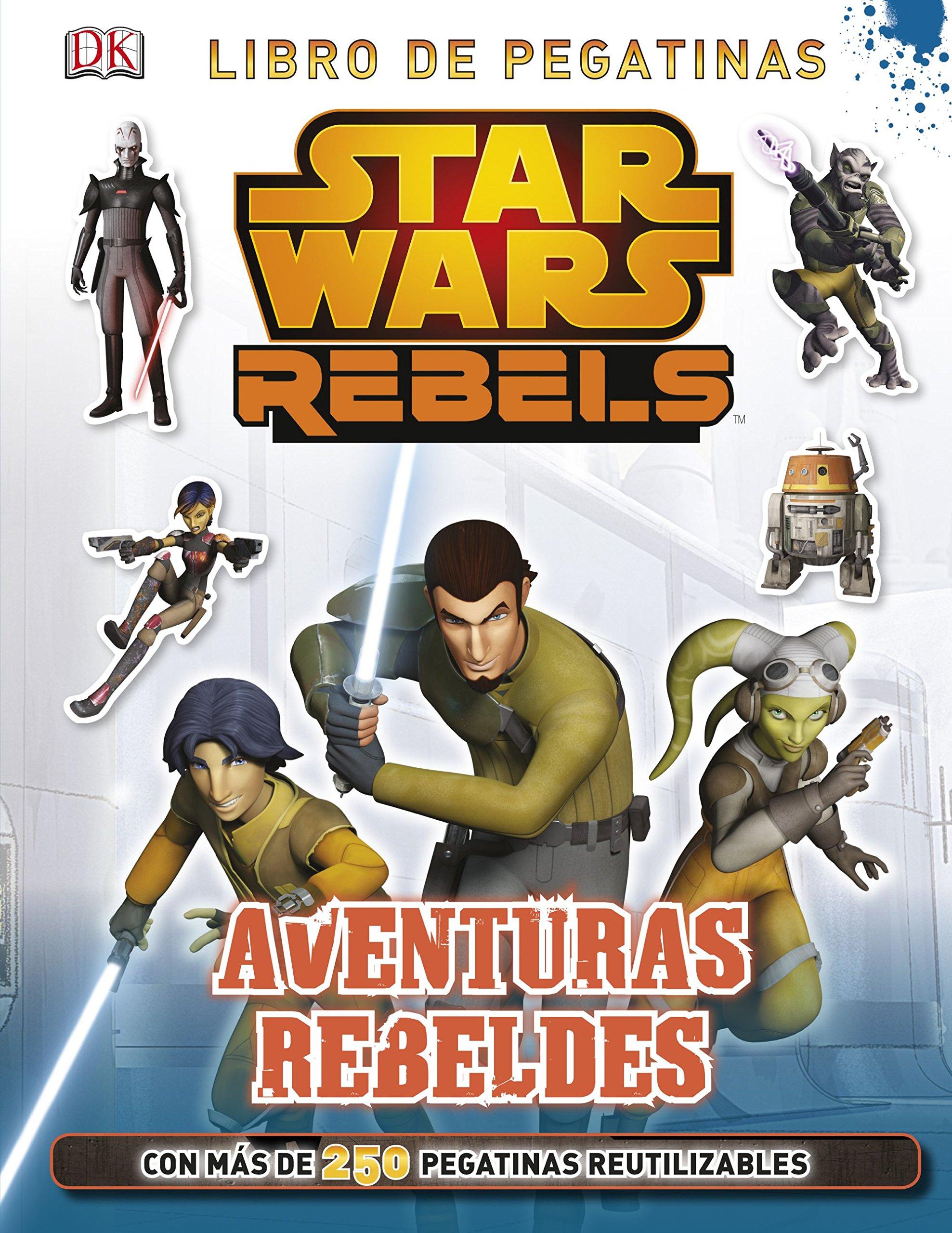 Star Wars Rebels. Aventuras rebeldes: Libro de pegatinas: Amazon.es: AA. VV.: Libros