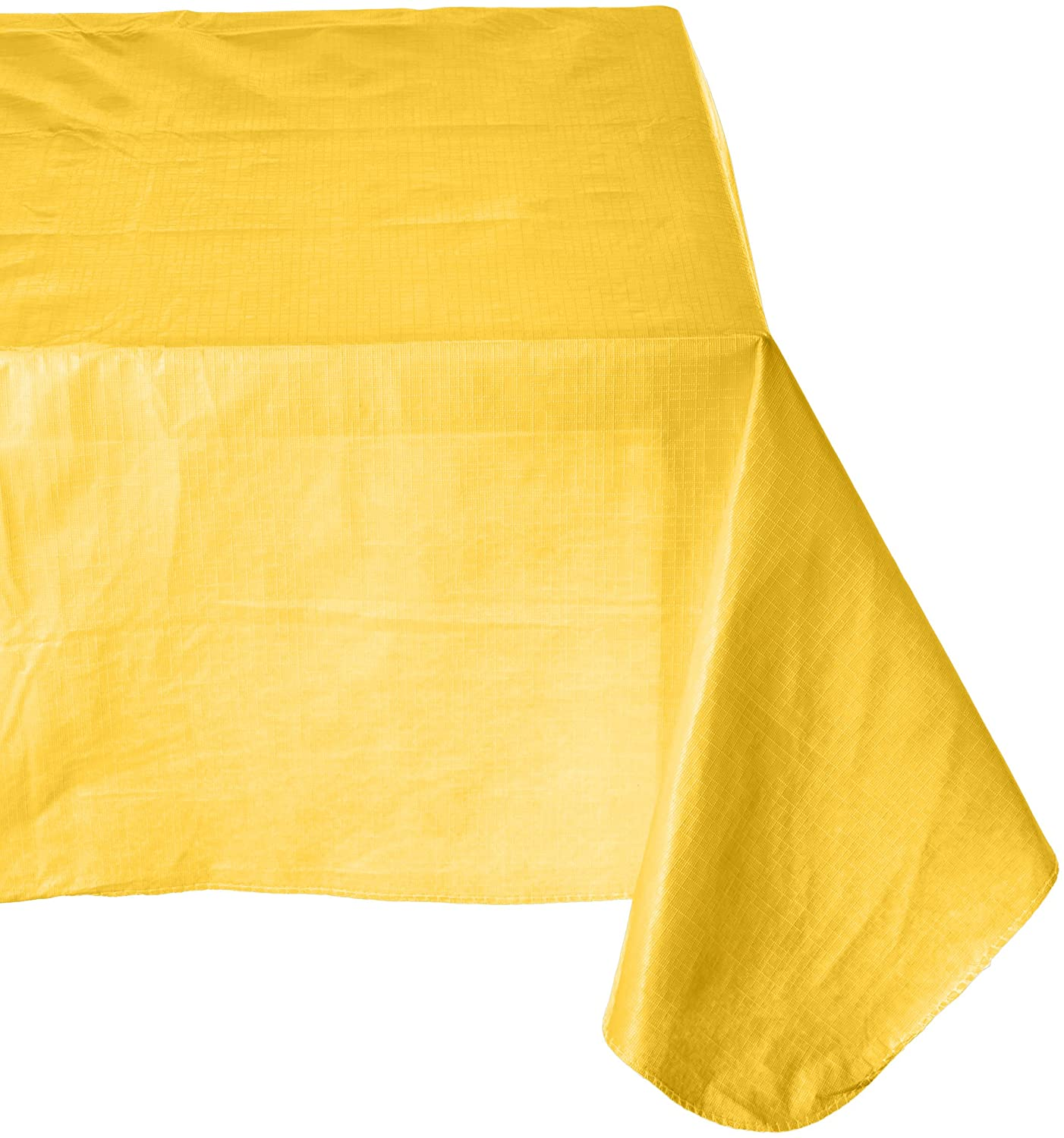 Amscan Durable Indoor Outdoor Flannel Backed in Solid Color Yellow Vinyl 52 x 90 Others Party Supplies