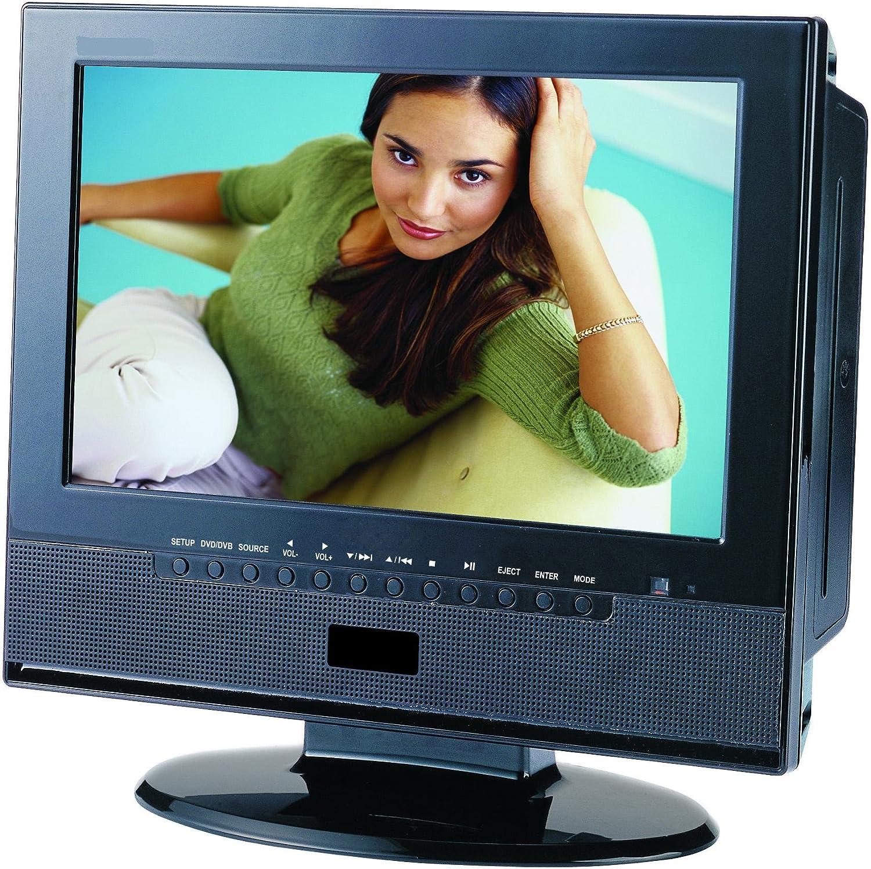 Reflexion Tdd1035 25 4 Cm 10 Zoll Fernseher Dvd Player Dvb T Tuner Heimkino Tv Video