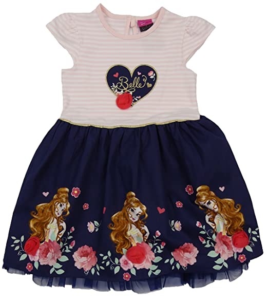 6bfa01d66e90 Amazon.com  Childrens Character Summer Dress Belle Beauty and The ...