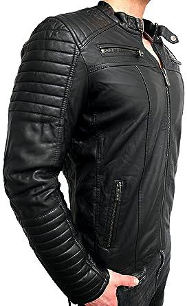 Veste Style Biker Homme Motif Moto De Motard Pour rRfgWr