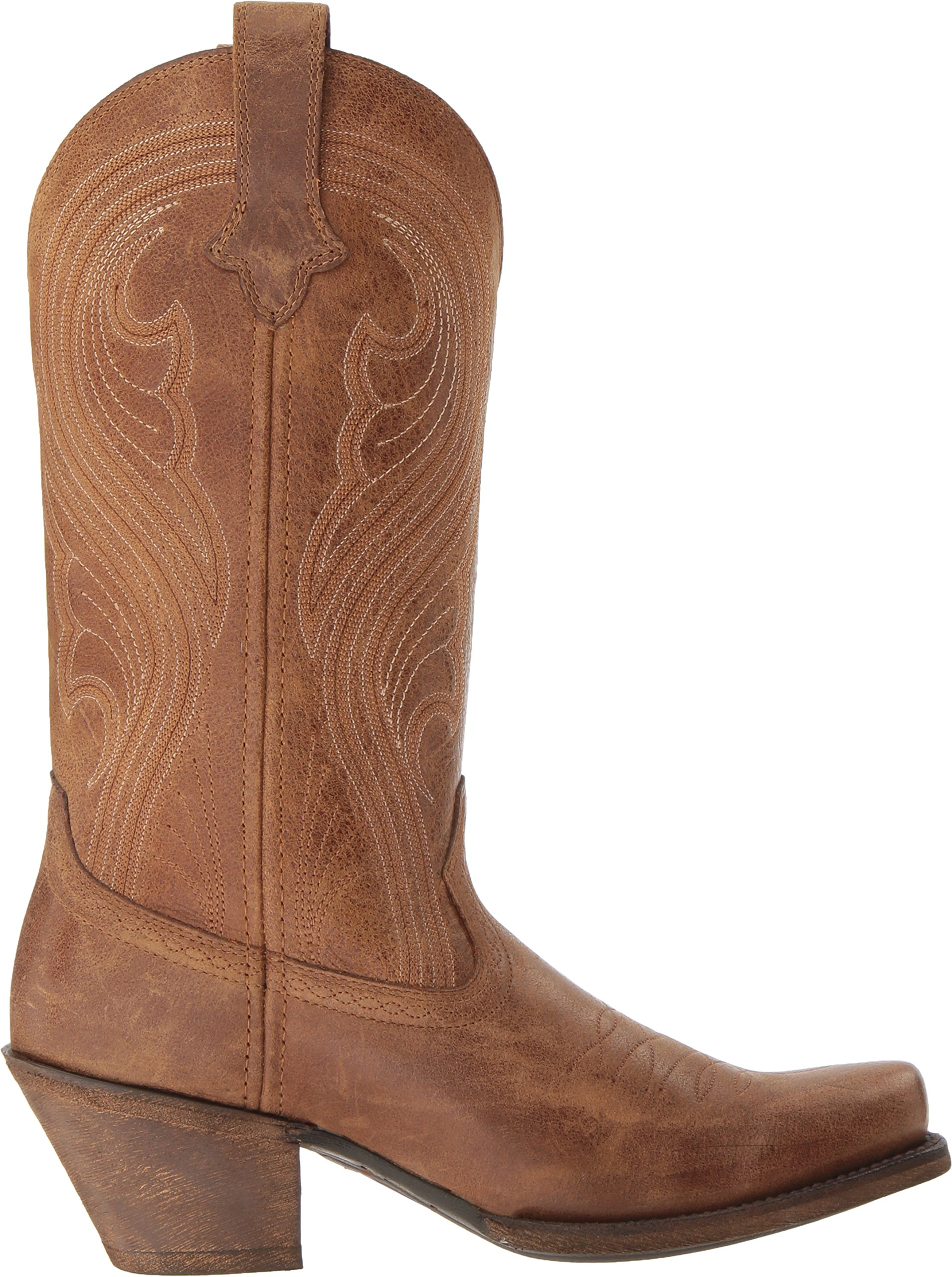 Ariat Women's Lively Western Cowboy Boot, Old West Brown, 9 B US by Ariat (Image #7)