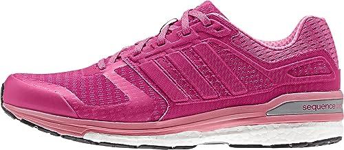 adidas Supernova Sequence Boost 8 Wid - Zapatillas para Mujer, Color Rosa /Fucsia/