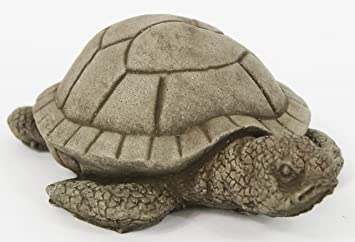 Swimming Turtle Concrete Garden Statue Cement Turtles Figure Cast Stone Statuary  Garden Art Decor Statues