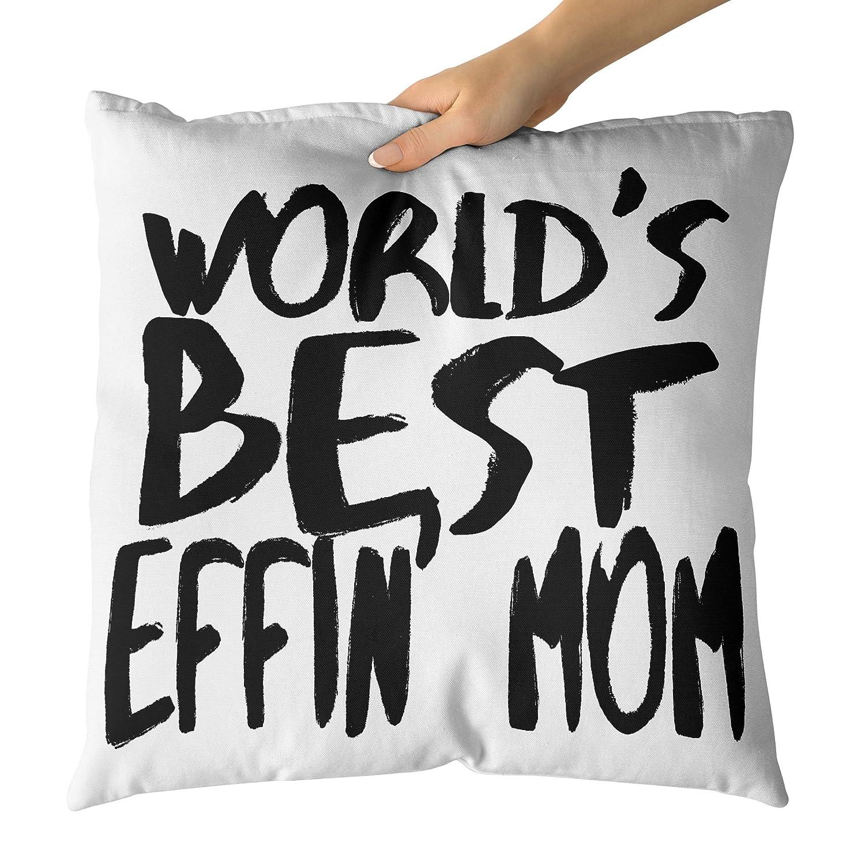 Westlake Art Mundos Mejores Effin_ mamá-Decorativa Throw ...