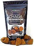Organic Chaga Mushroom Tea Chunks, Wild Harvested in Alaska, 8 oz.