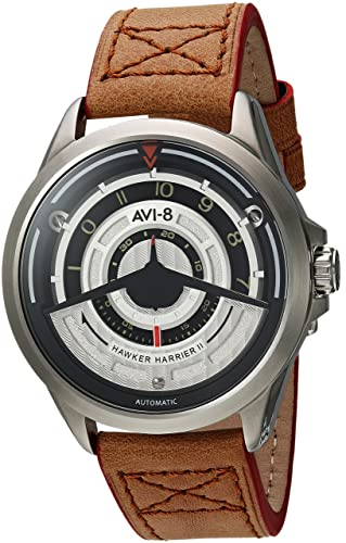AVI-8 Hawker Harrier II Reloj de Hombre automático 45mm AV-4047-01: Amazon.es: Relojes